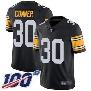 Steelers James Conner 100th Season Jersey 2